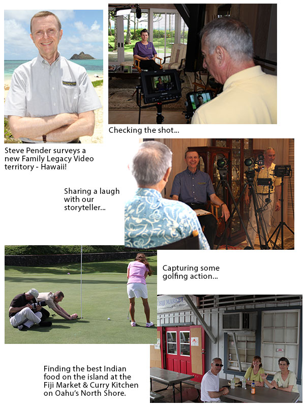 Family Legacy Video provides custom personal video biography and legacy video production services.