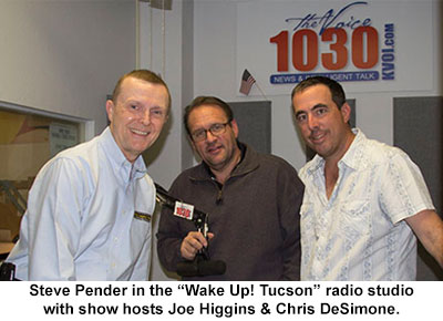 Family Legacy Video president Steve Pender on the Wake Up! Tucson radio show.