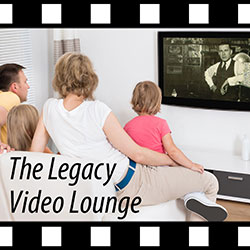 Family Legacy Video president Steve Pender hosts the Legacy Video Lounge podcast.