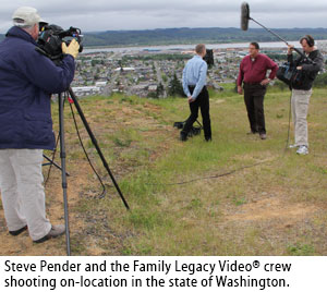 Family Legacy Video travels to your location!