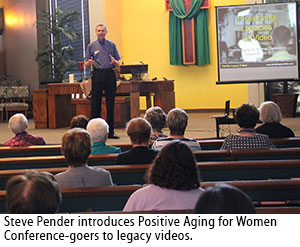 Family Legacy Video president Steve Pender talks about legacy videos.
