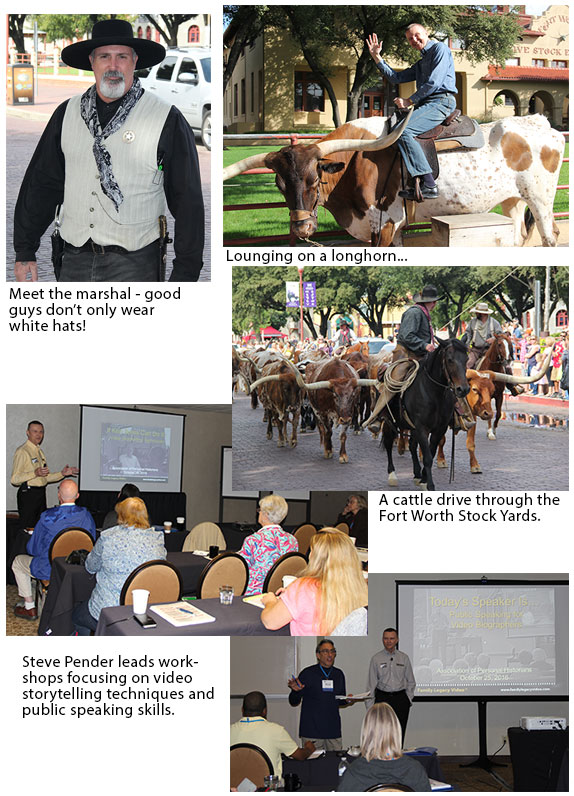 Personal Historians Conference Scenes