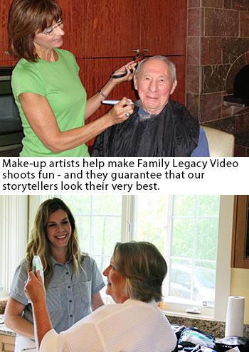 Family Legacy Video make-up artist